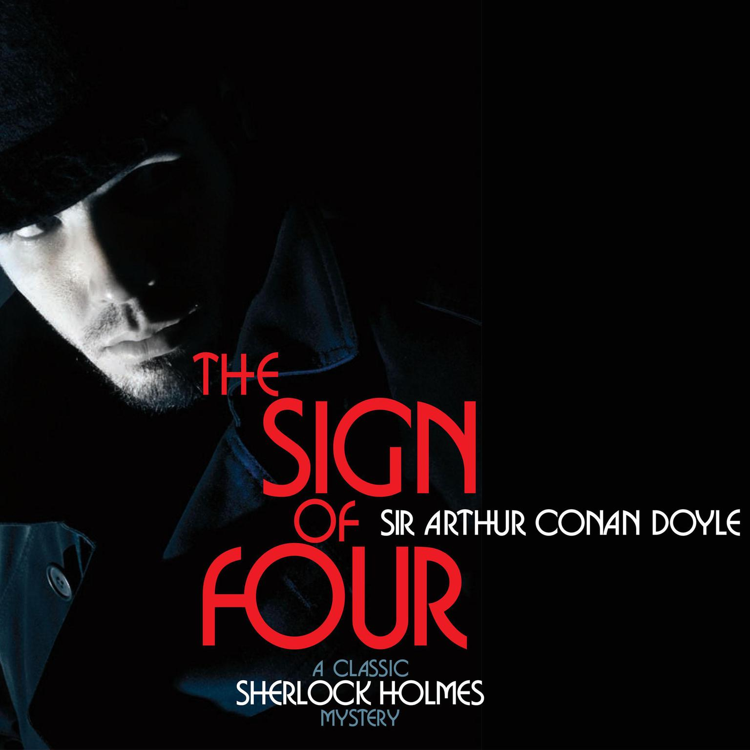 Printable The Sign of Four Audiobook Cover Art