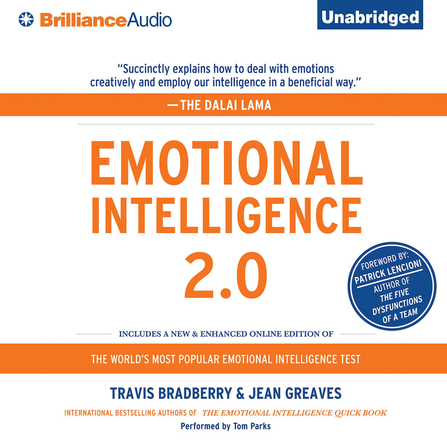 Printable Emotional Intelligence 2.0 Audiobook Cover Art