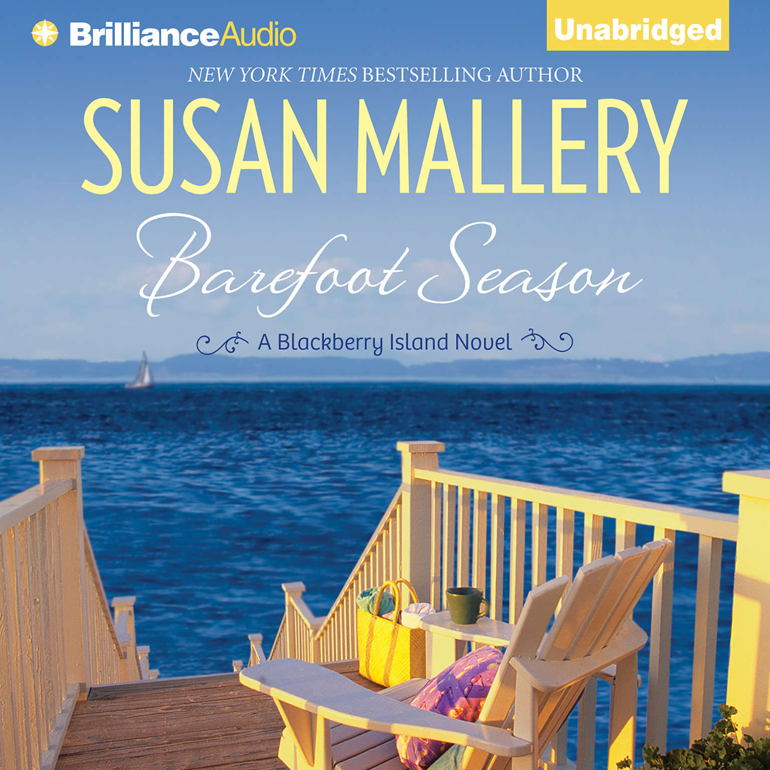 Printable Barefoot Season: A Blackberry Island Novel Audiobook Cover Art