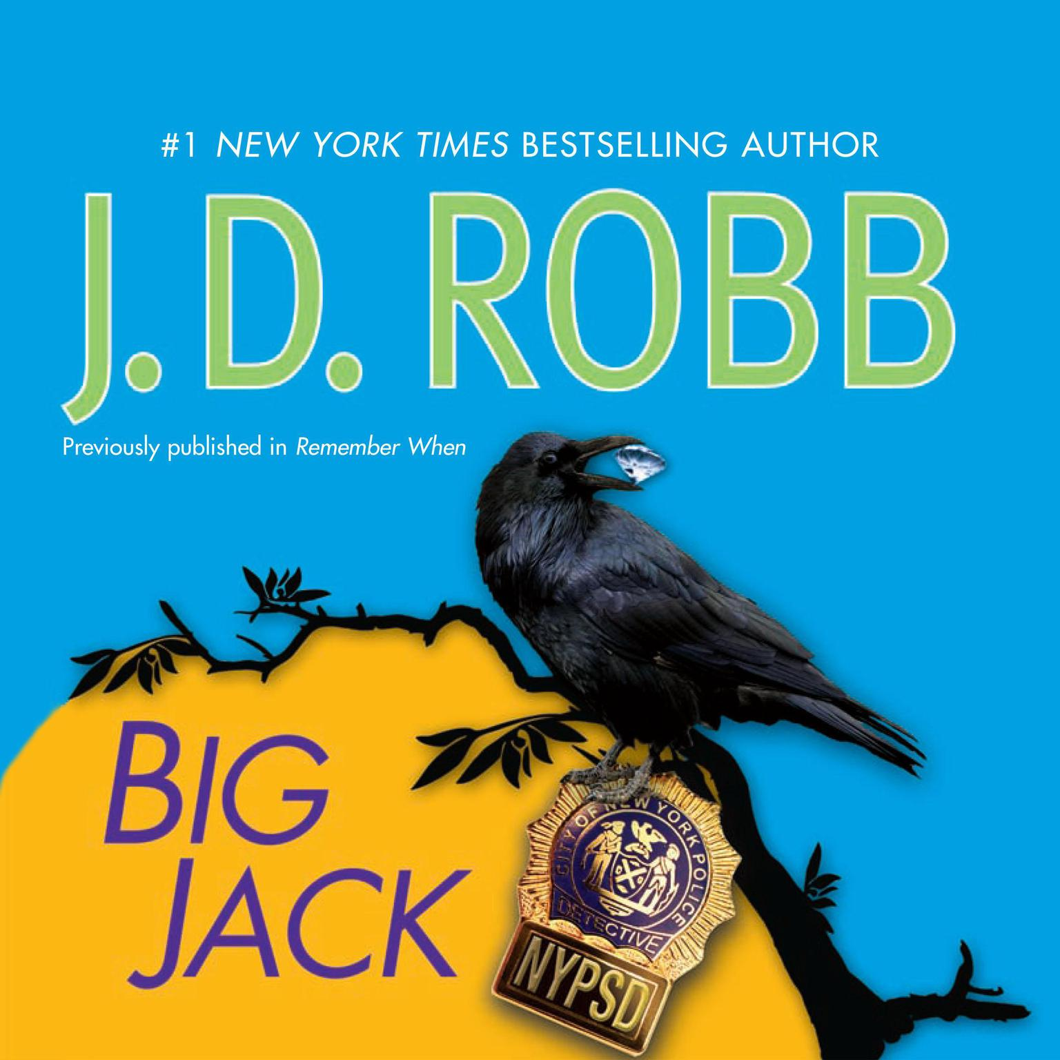 Printable Big Jack Audiobook Cover Art