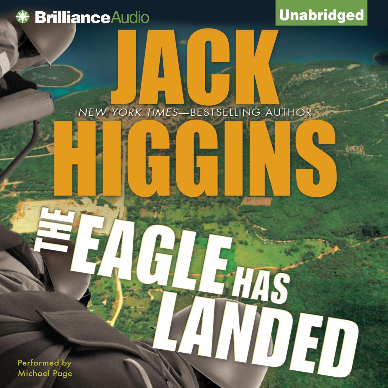 Printable The Eagle Has Landed Audiobook Cover Art