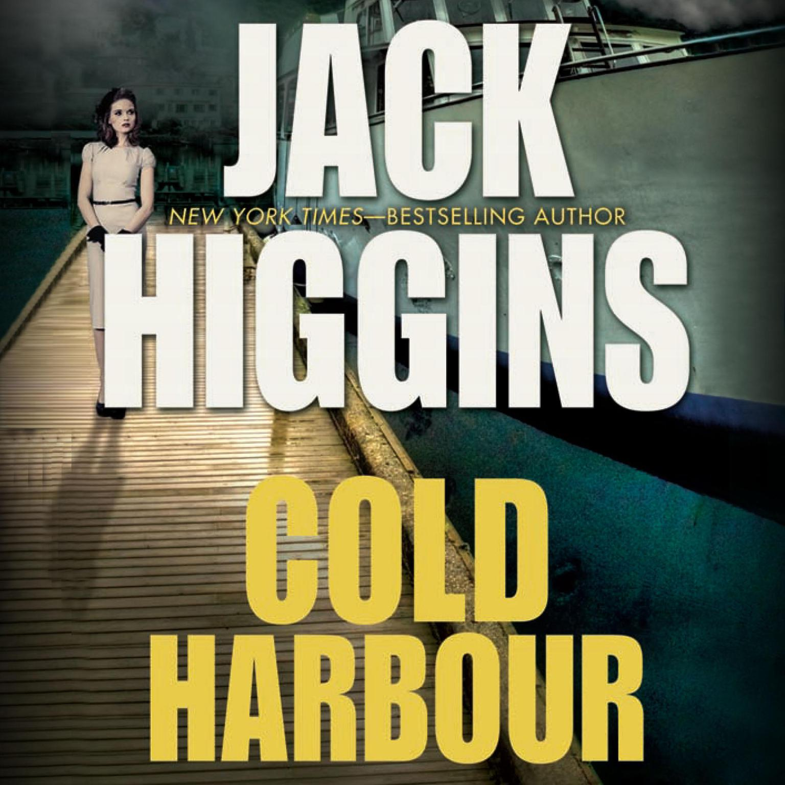 Printable Cold Harbour Audiobook Cover Art