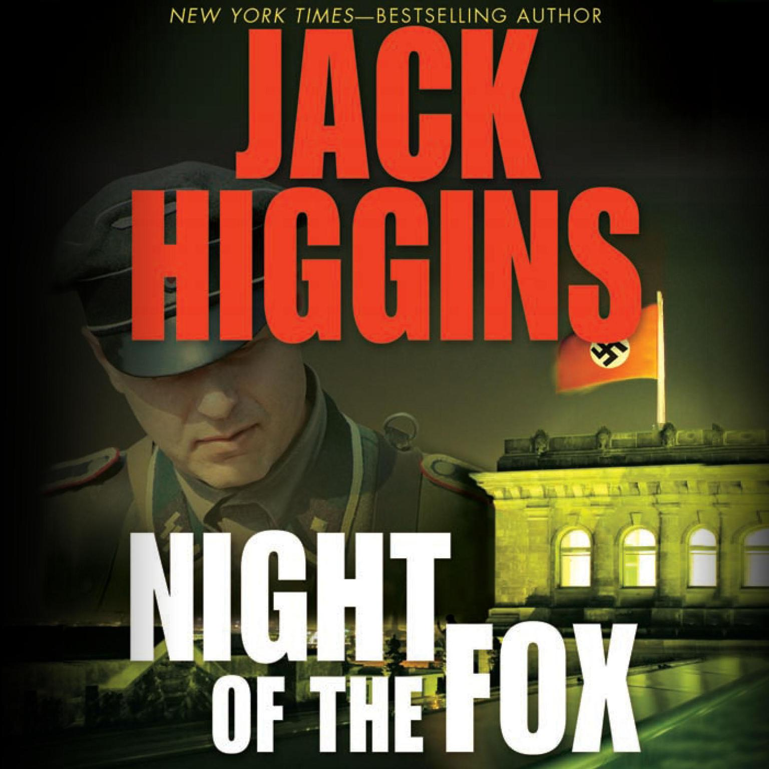 Printable Night of the Fox Audiobook Cover Art