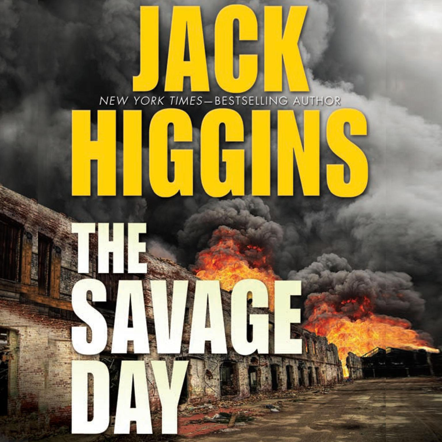 Printable The Savage Day Audiobook Cover Art