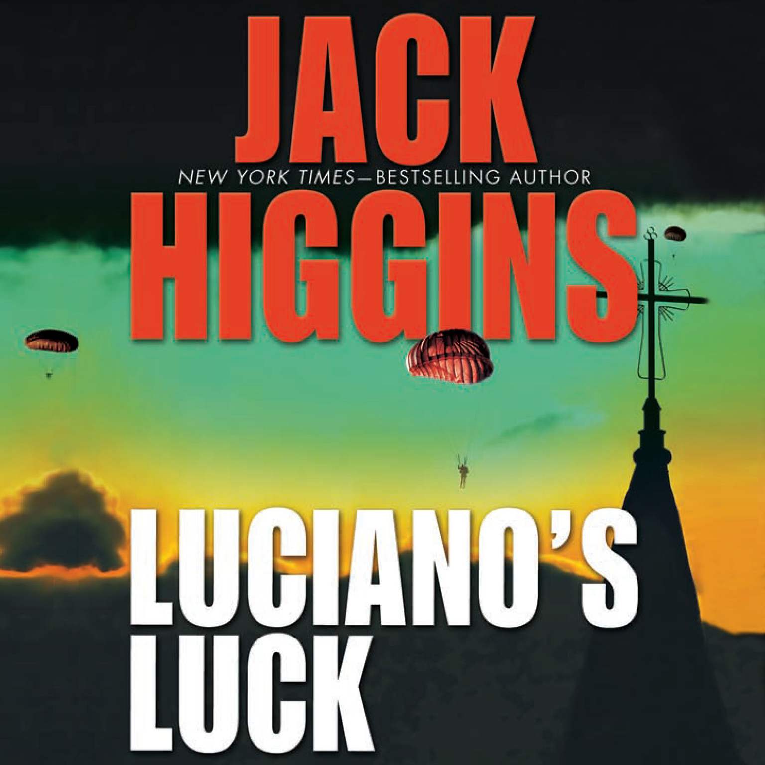 Printable Luciano's Luck Audiobook Cover Art