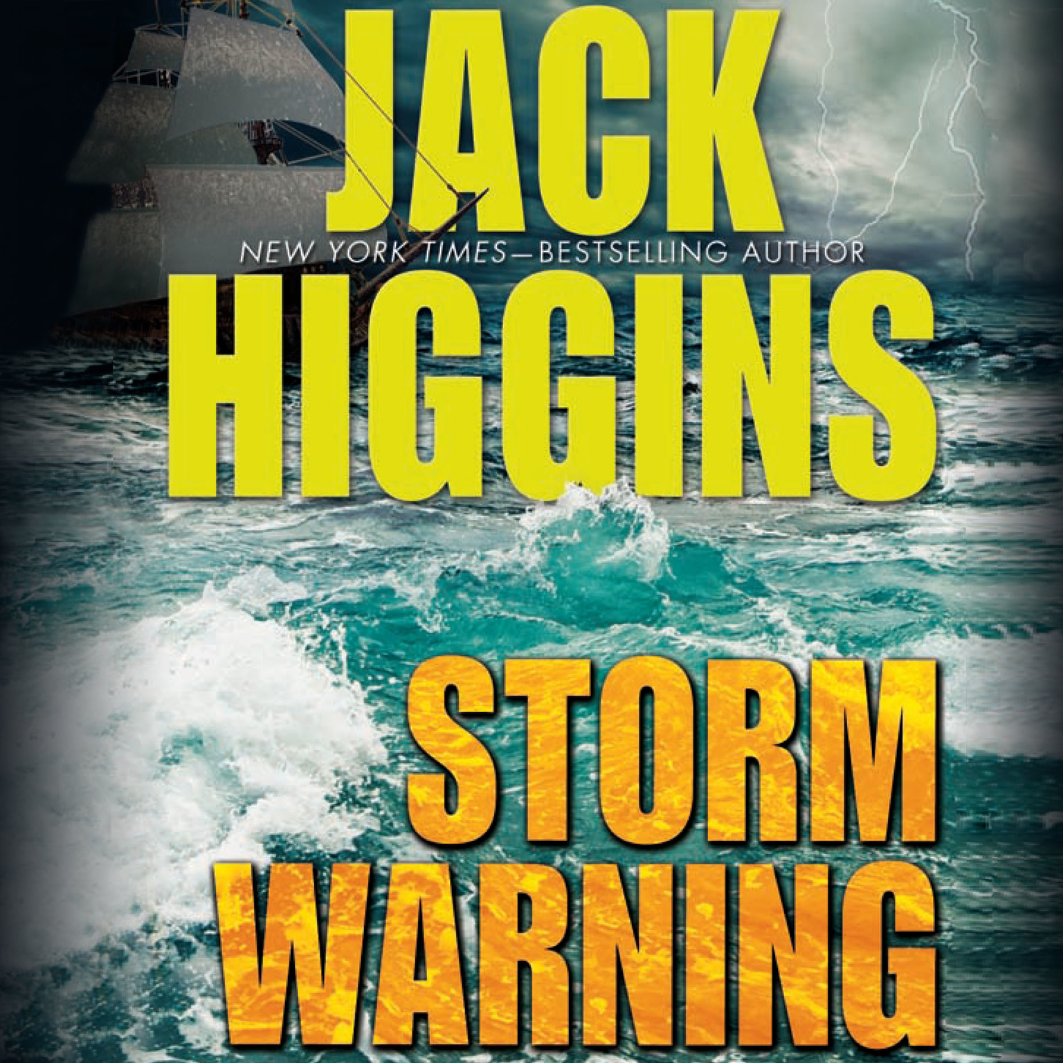 Printable Storm Warning Audiobook Cover Art