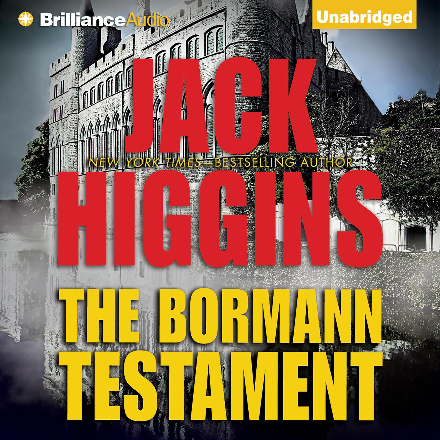 Printable The Bormann Testament Audiobook Cover Art