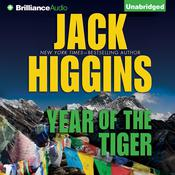 Year of the Tiger Audiobook, by Jack Higgins