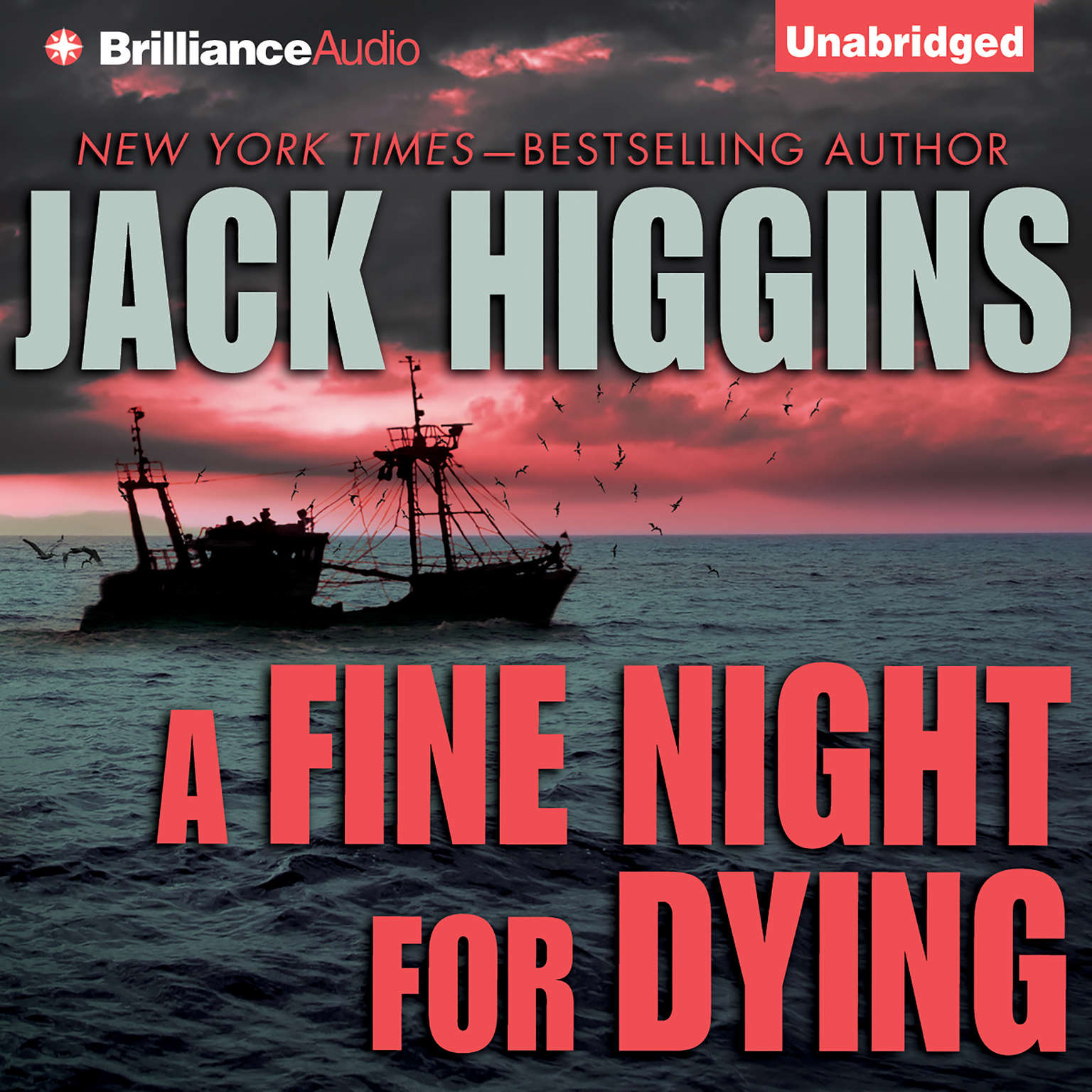 Printable A Fine Night For Dying Audiobook Cover Art