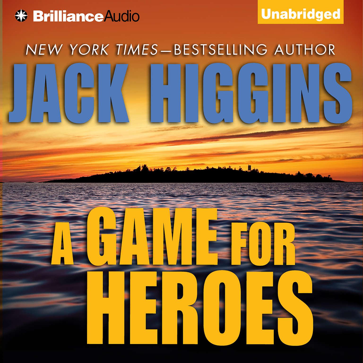 Printable A Game For Heroes Audiobook Cover Art