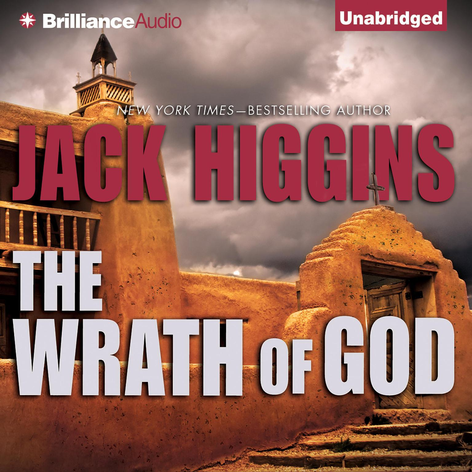 Printable The Wrath of God Audiobook Cover Art