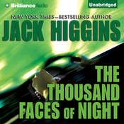 The Thousand Faces of Night Audiobook, by Jack Higgins