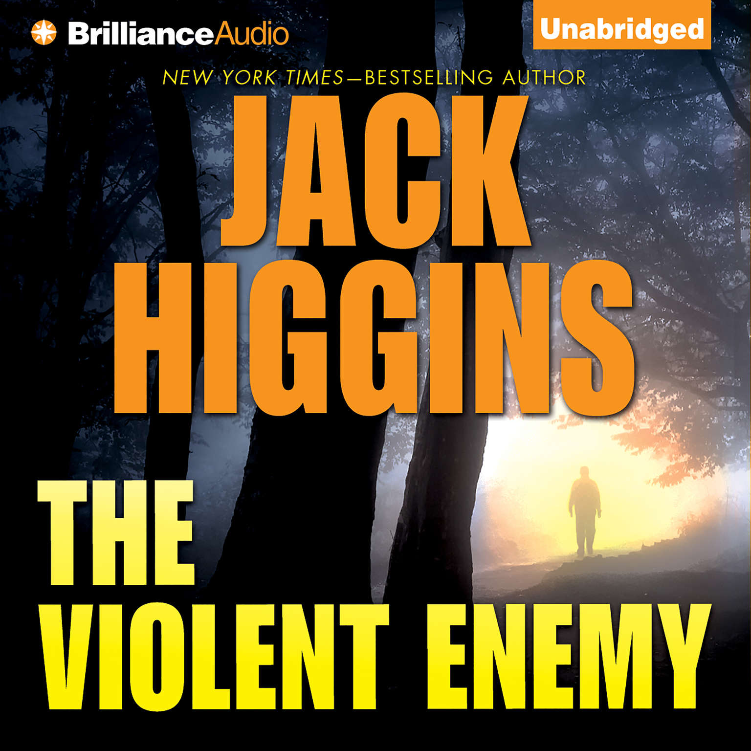 Printable The Violent Enemy Audiobook Cover Art