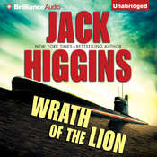 Wrath of the Lion Audiobook, by Jack Higgins