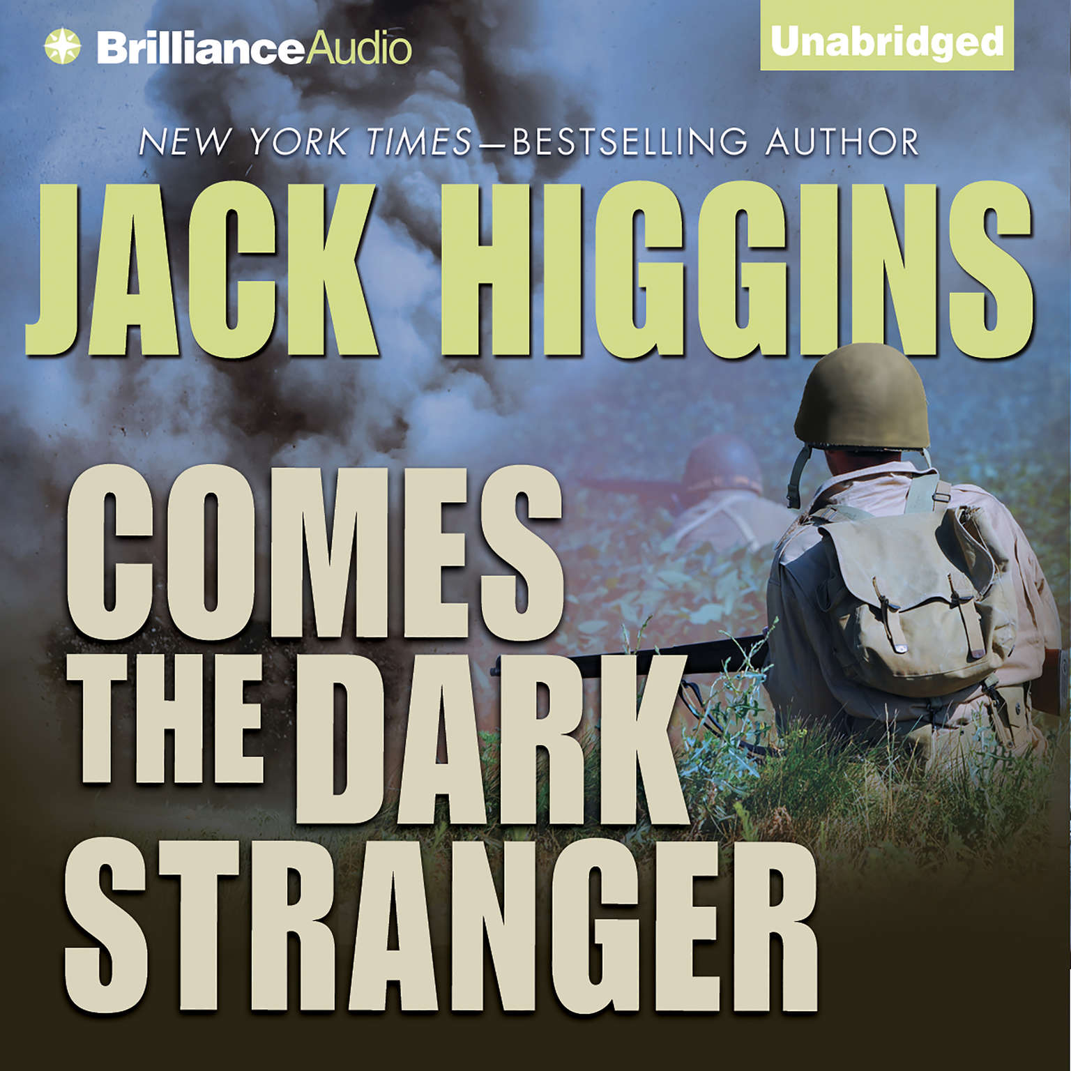 Printable Comes the Dark Stranger Audiobook Cover Art
