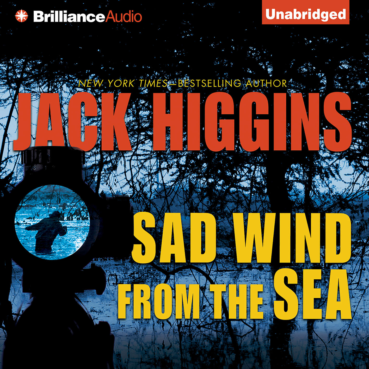 Printable Sad Wind from the Sea Audiobook Cover Art