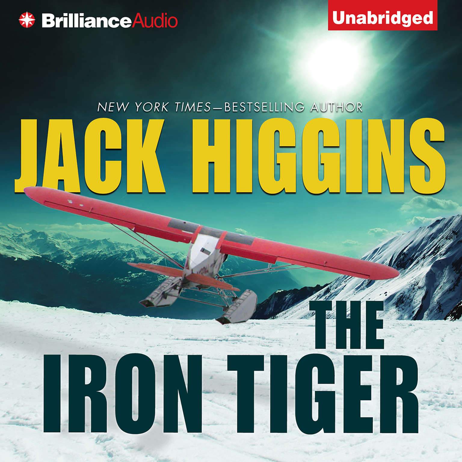 Printable The Iron Tiger Audiobook Cover Art