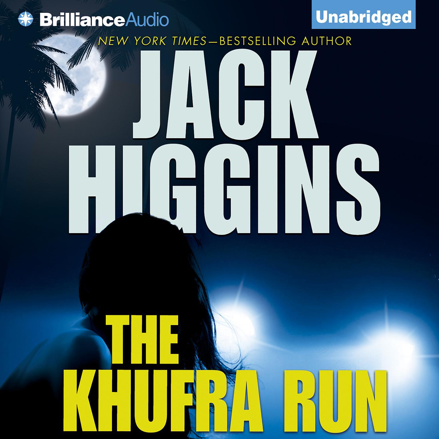 Printable The Khufra Run Audiobook Cover Art