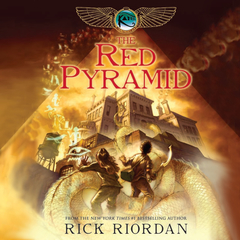 The Red Pyramid Audiobook, by Rick Riordan