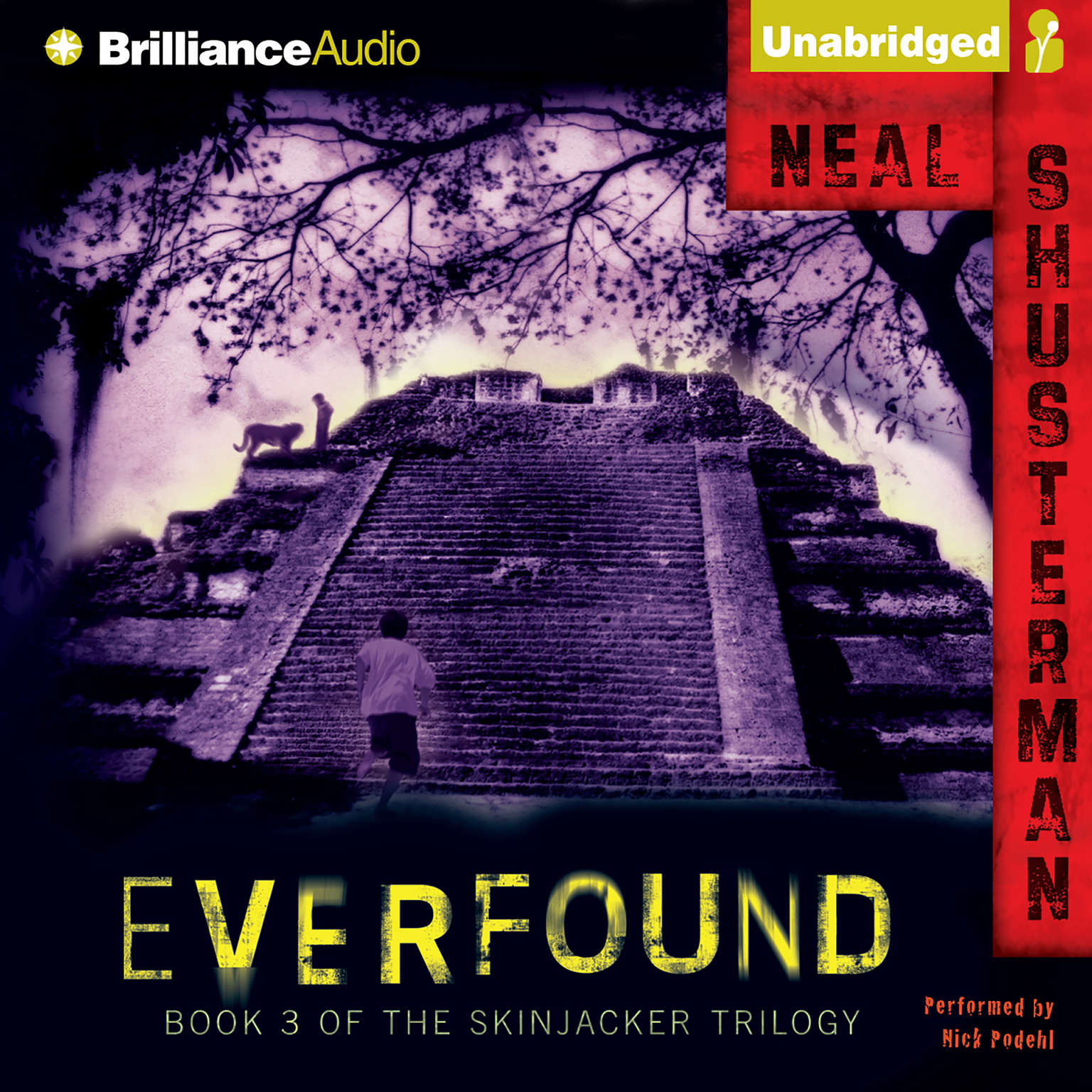 Printable Everfound: Book 3 of the Skinjacker Trilogy Audiobook Cover Art