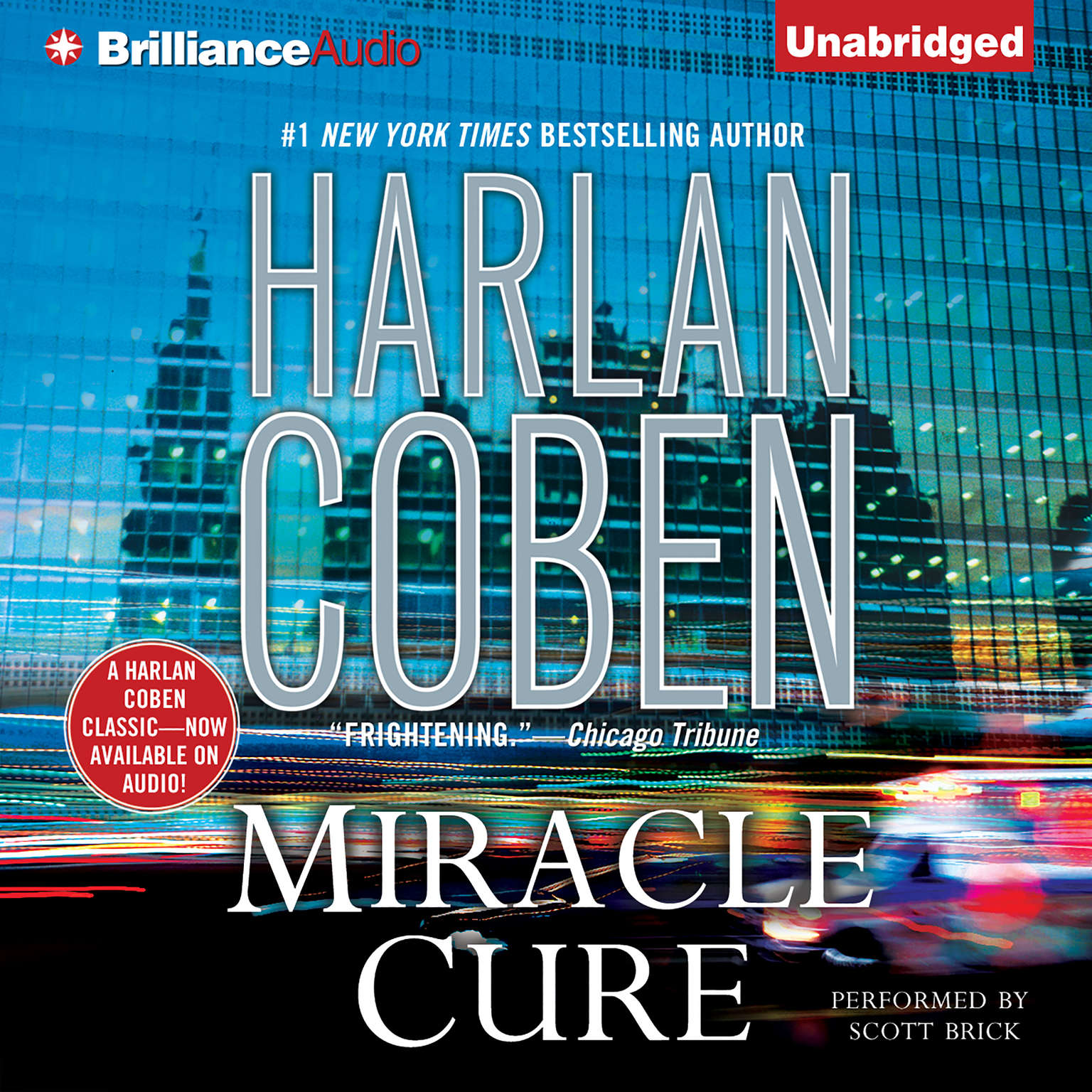 Printable Miracle Cure Audiobook Cover Art