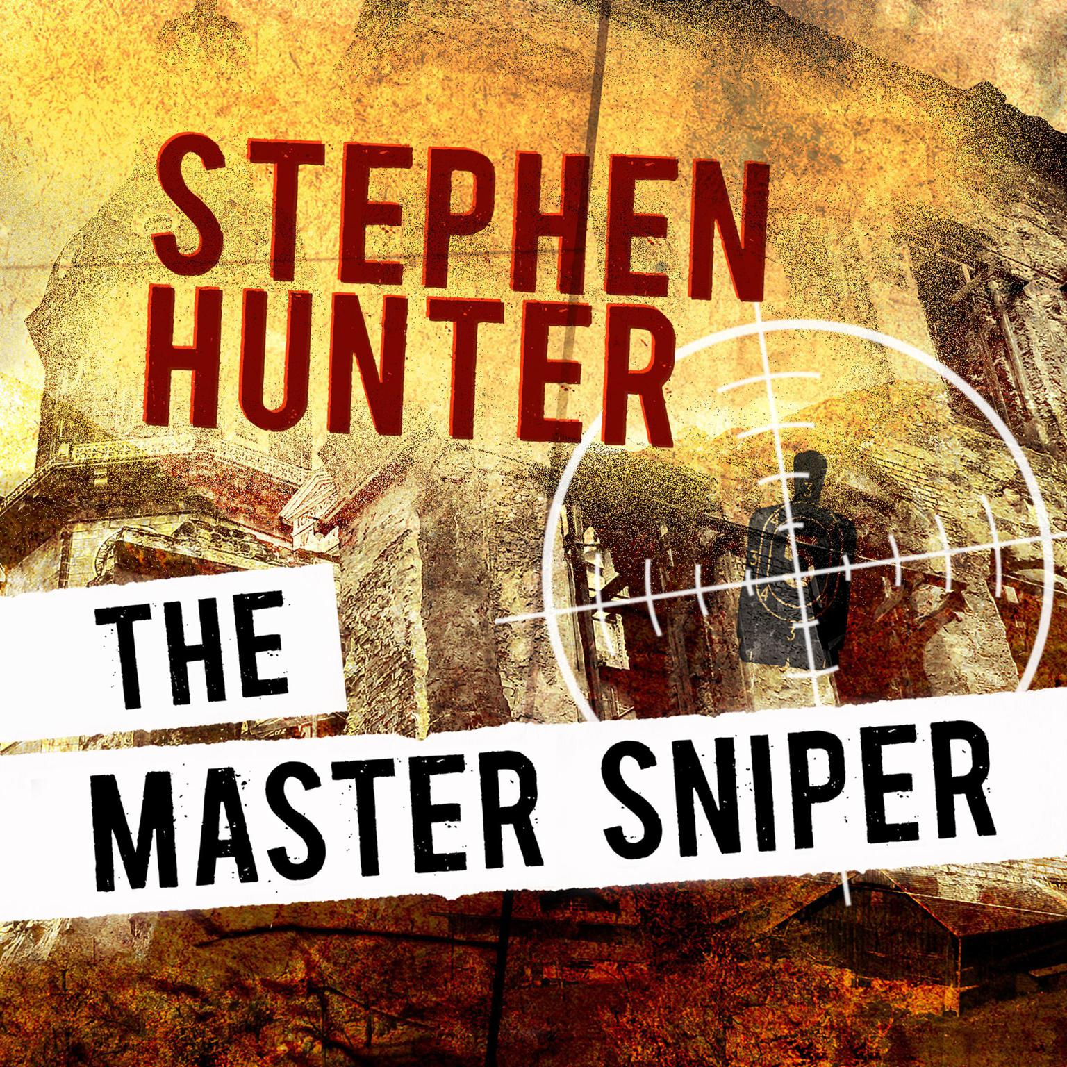 Printable The Master Sniper Audiobook Cover Art