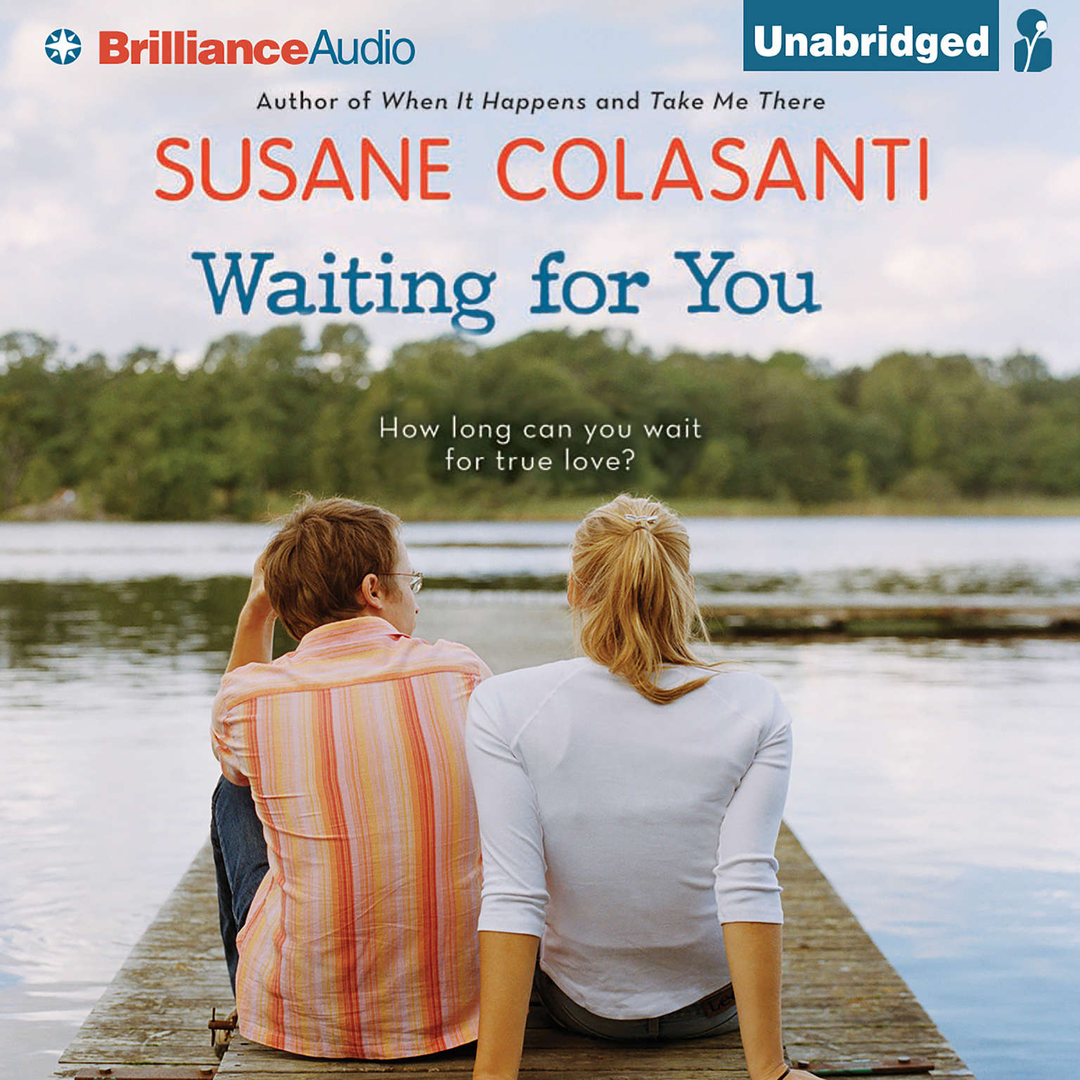 Printable Waiting for You Audiobook Cover Art