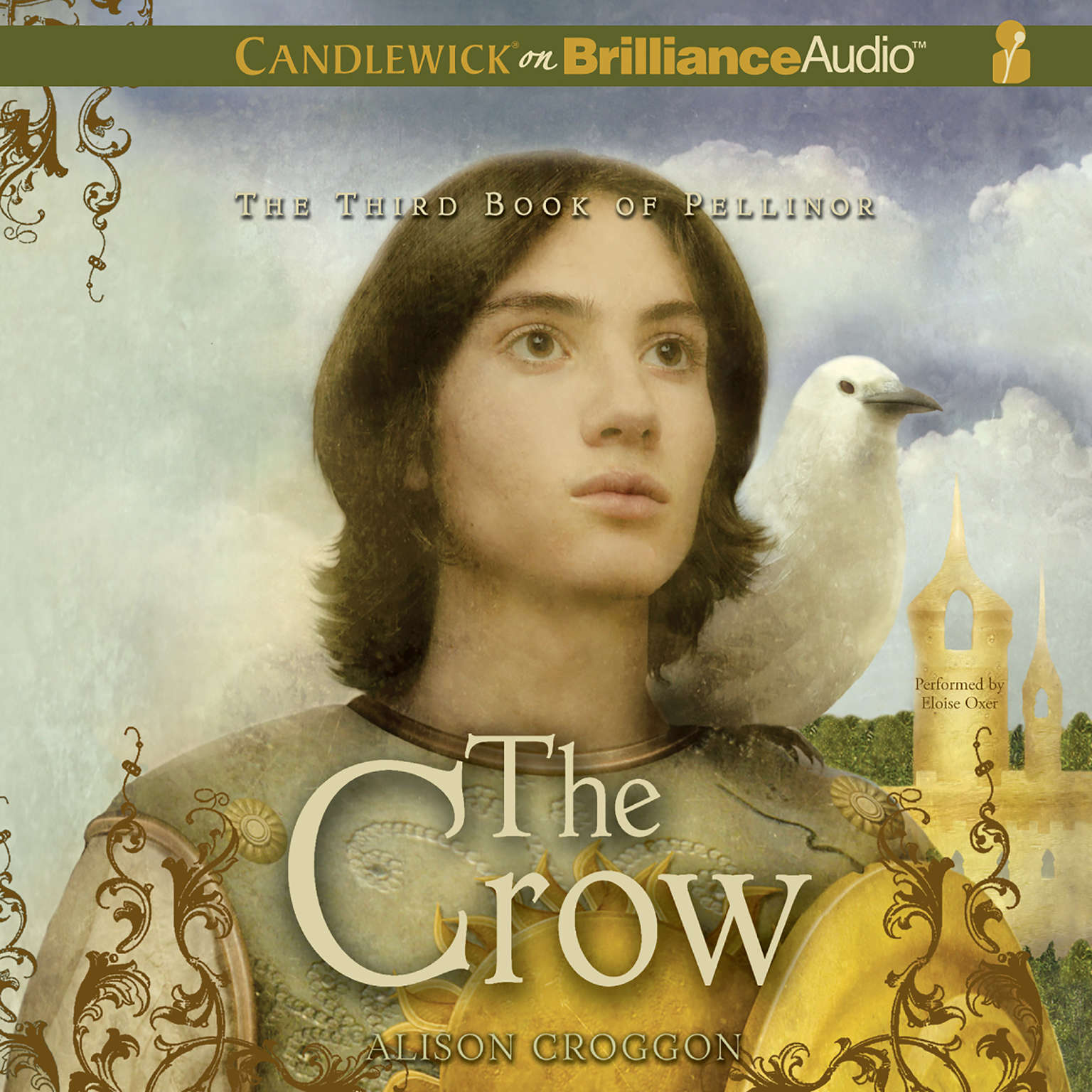 Printable The Crow: The Third Book of Pellinor Audiobook Cover Art