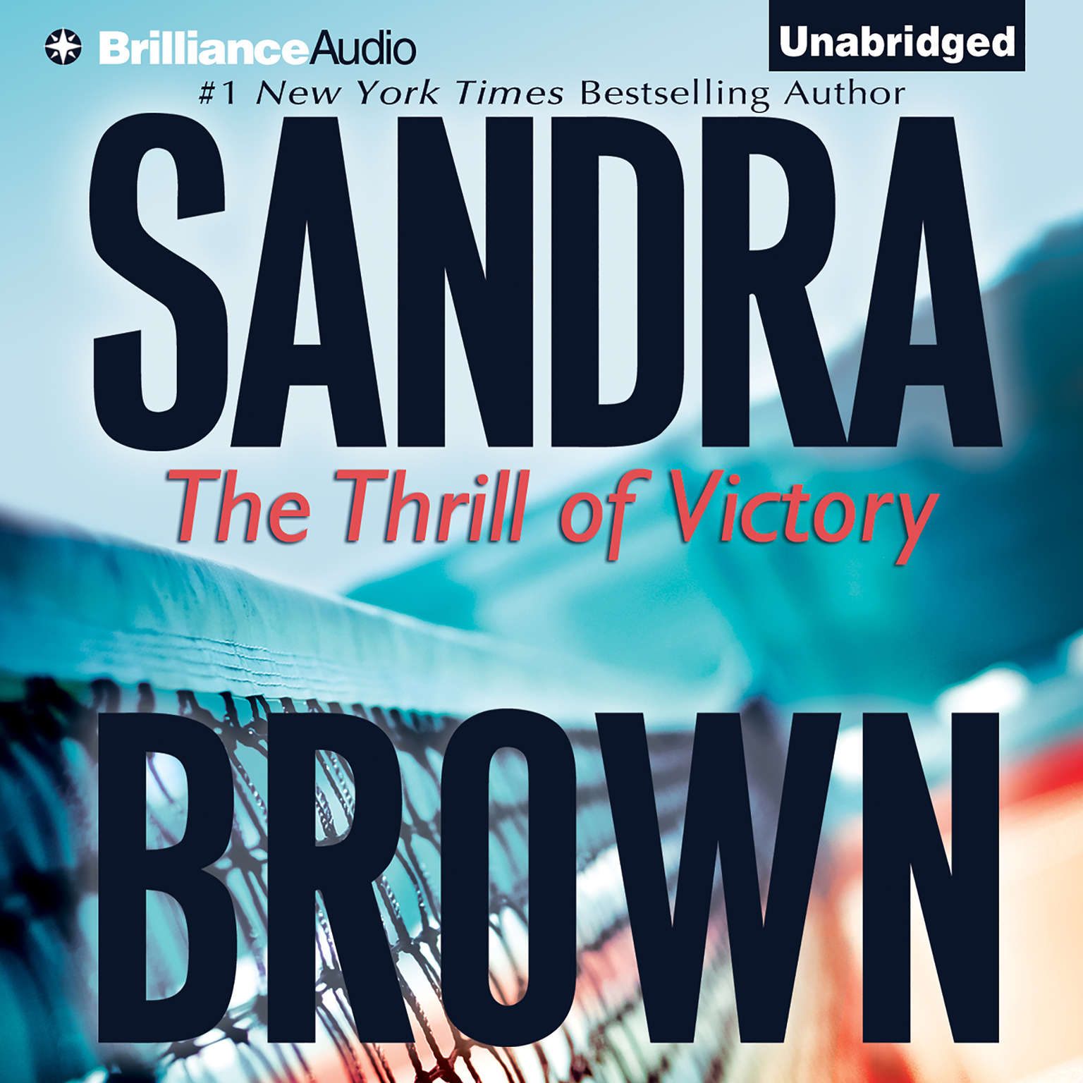 Printable The Thrill of Victory Audiobook Cover Art
