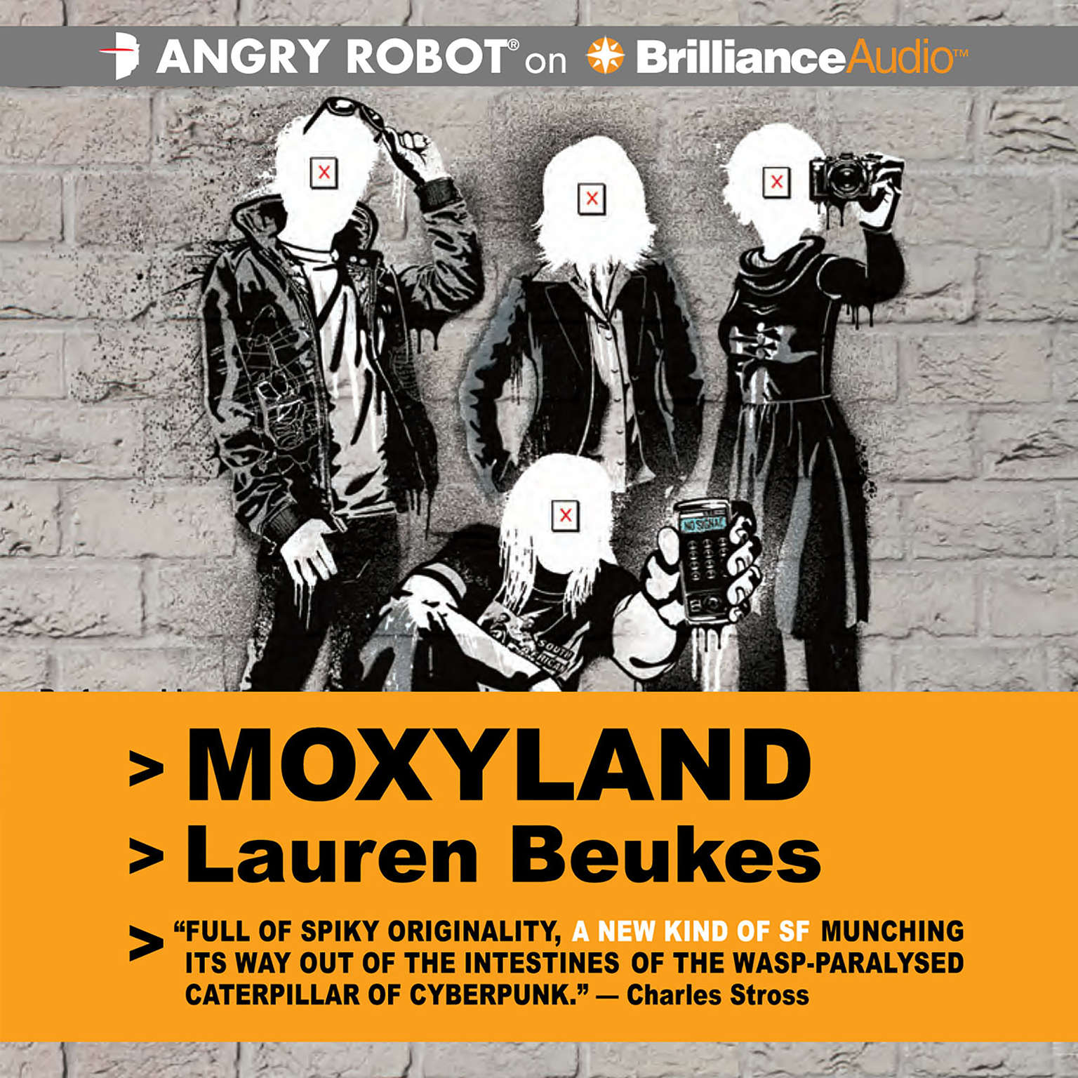 Printable Moxyland Audiobook Cover Art