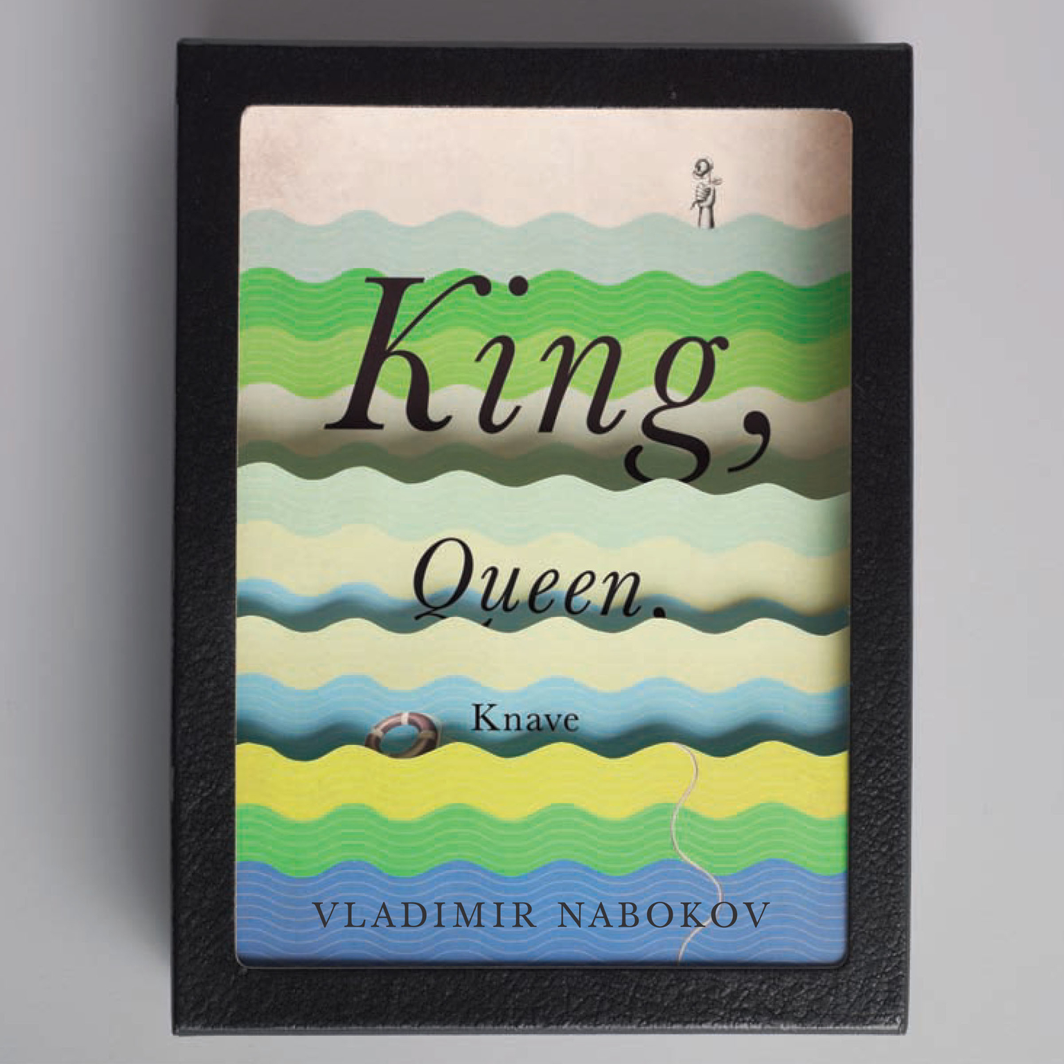 Printable King, Queen, Knave Audiobook Cover Art