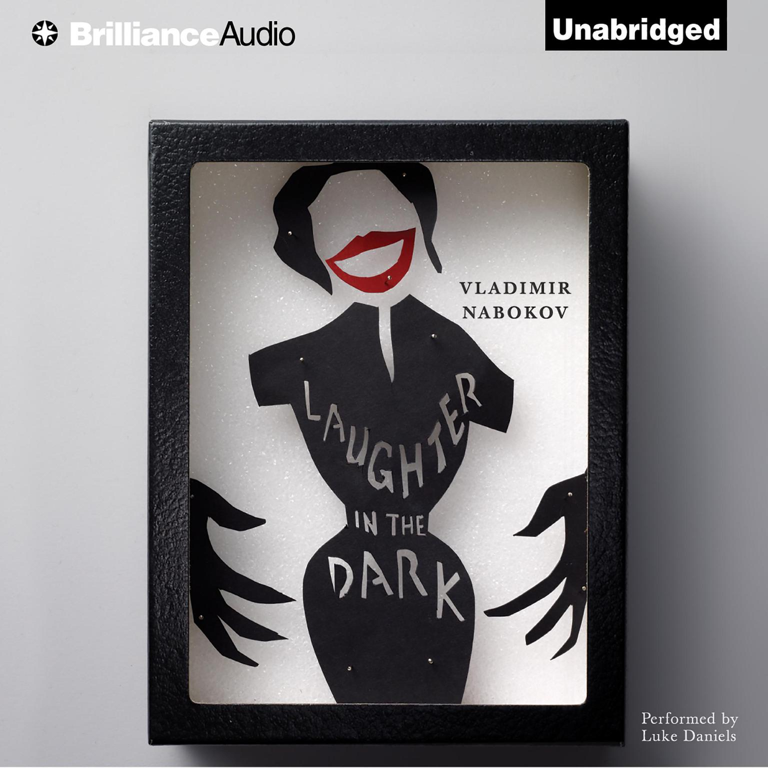 Printable Laughter in the Dark Audiobook Cover Art