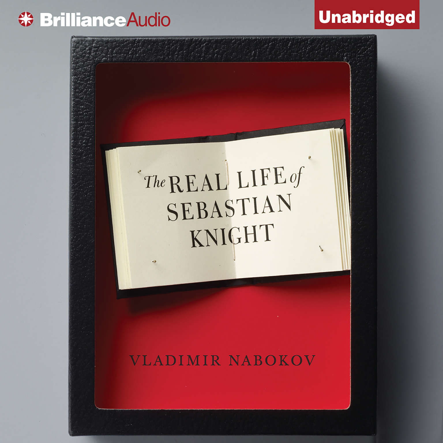 Printable The Real Life of Sebastian Knight Audiobook Cover Art
