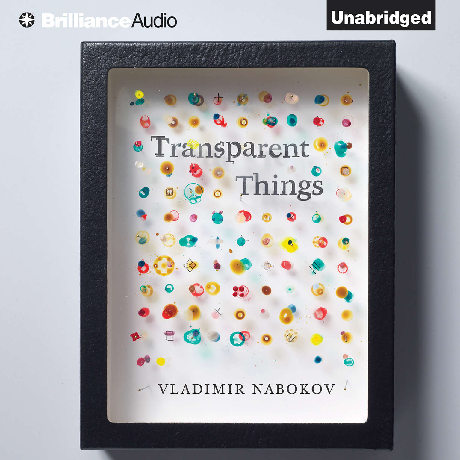 Printable Transparent Things Audiobook Cover Art
