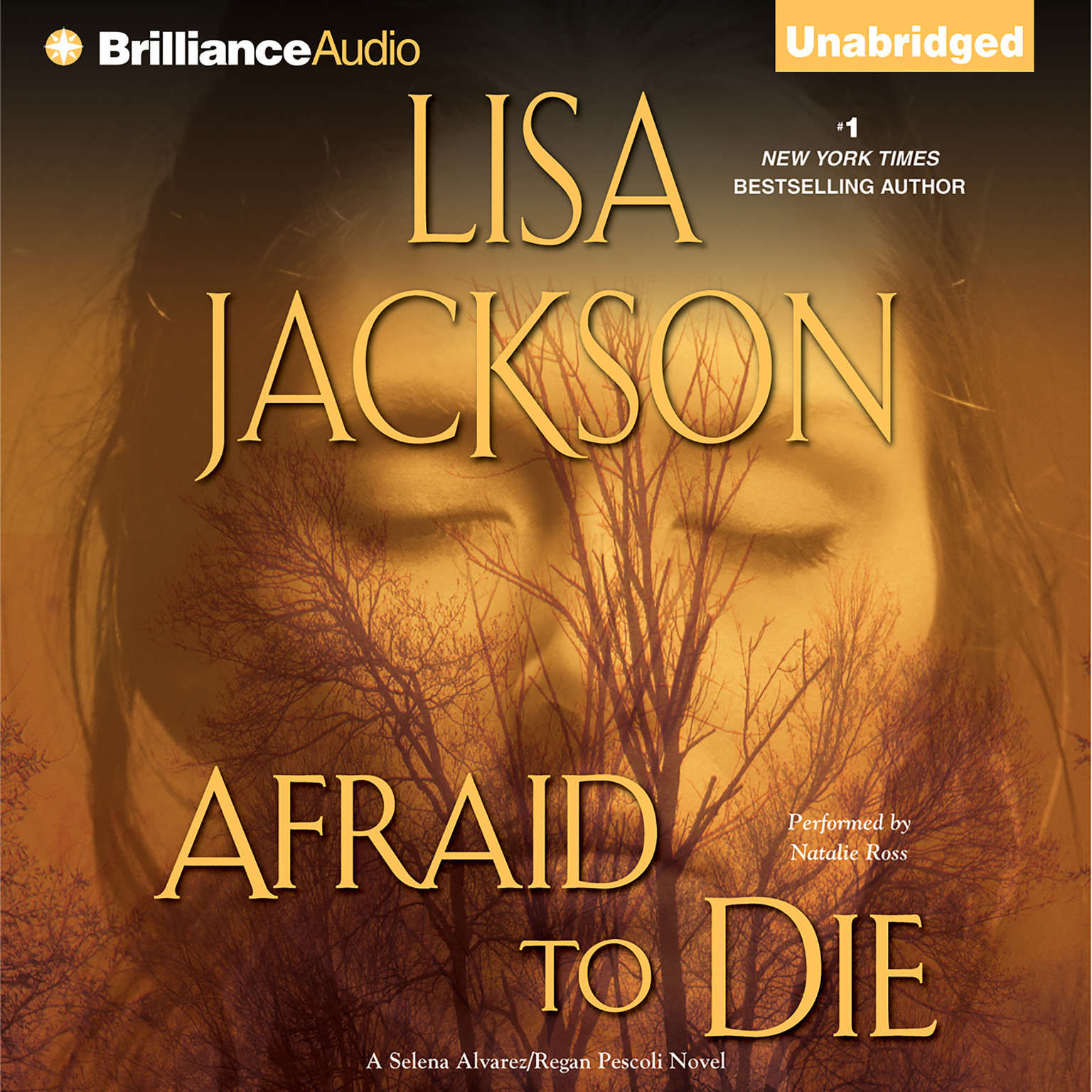 Printable Afraid to Die Audiobook Cover Art