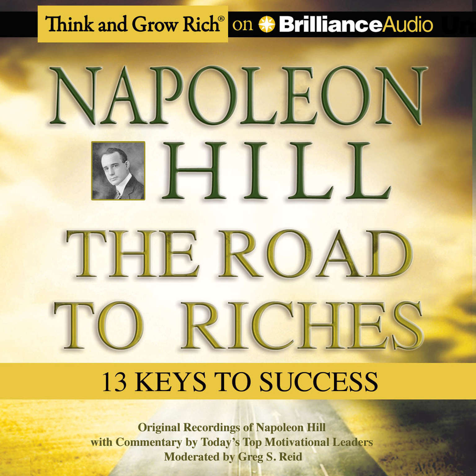 Printable The Road to Riches: 13 Keys to Success Audiobook Cover Art