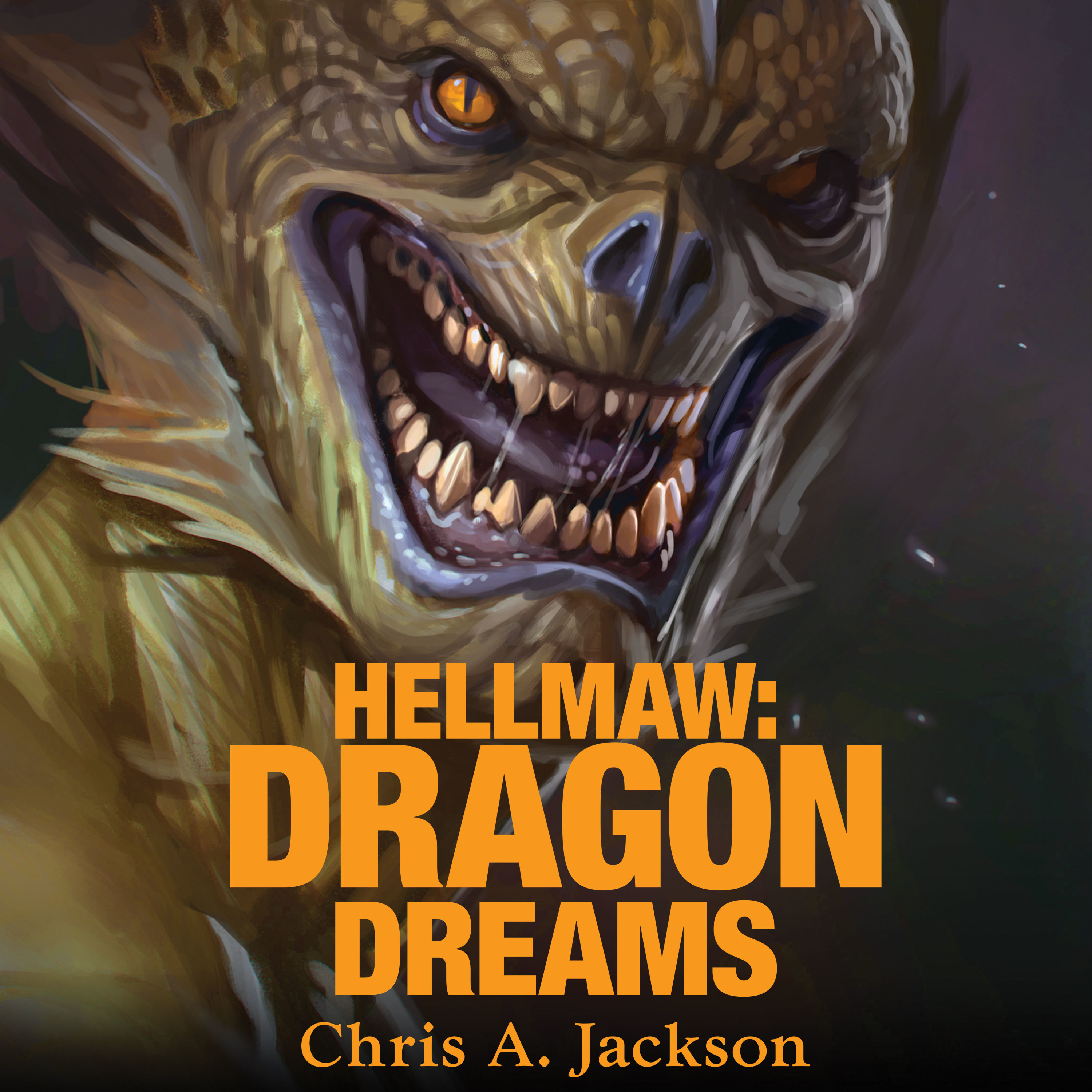 Printable Hellmaw: Dragon Dreams Audiobook Cover Art