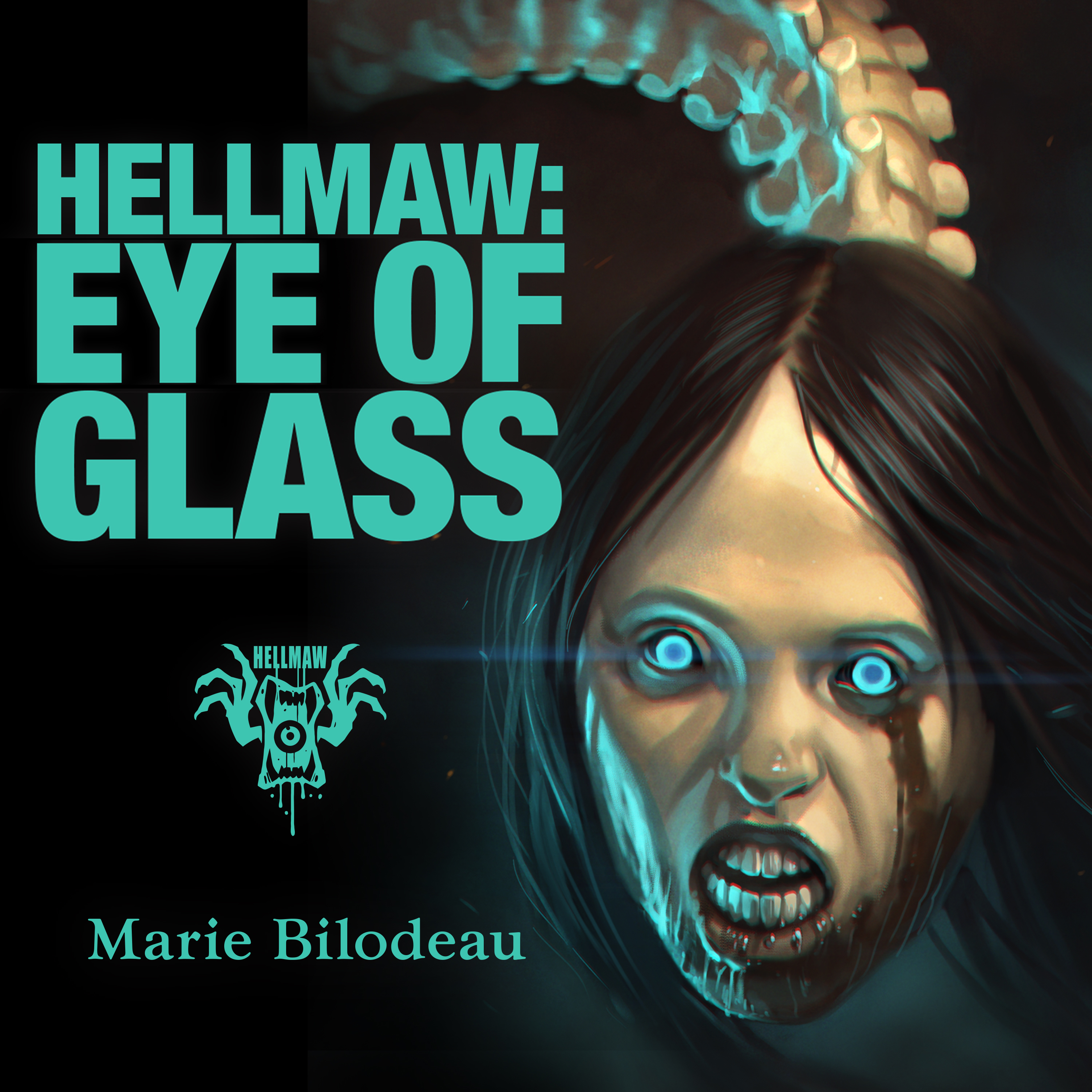 Printable Hellmaw: Eye of Glass Audiobook Cover Art