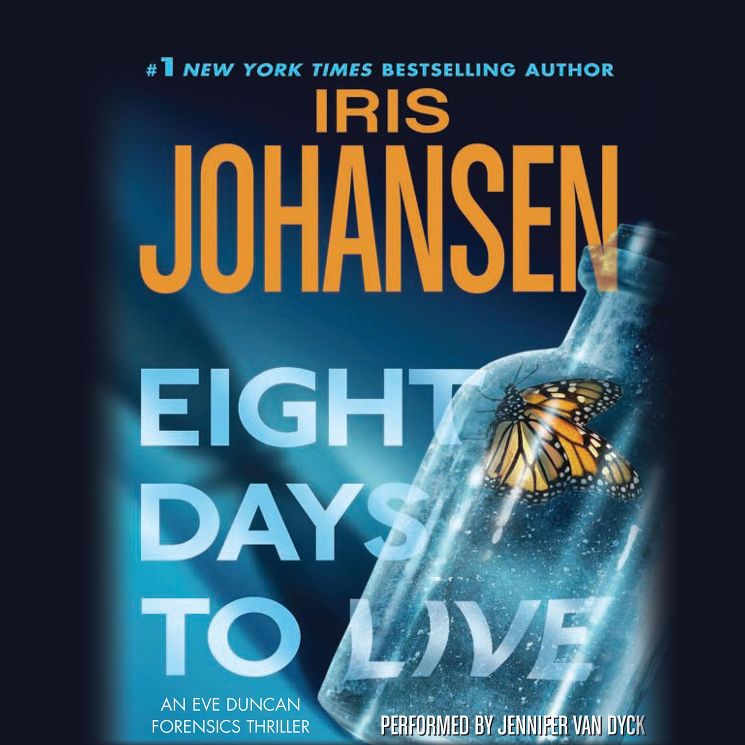 Printable Eight Days to Live Audiobook Cover Art