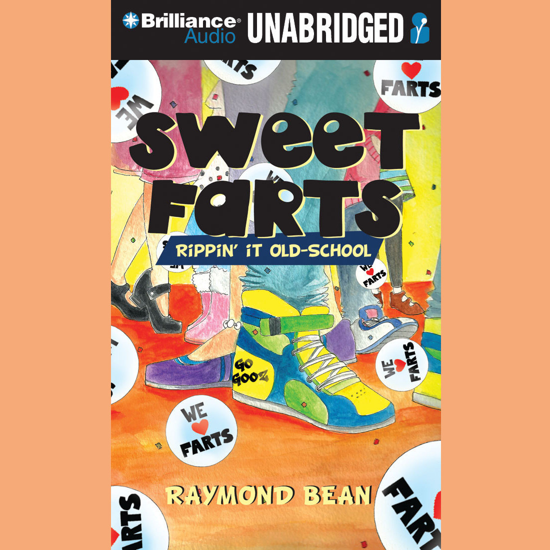 Printable Sweet Farts #2: Rippin' It Old School Audiobook Cover Art