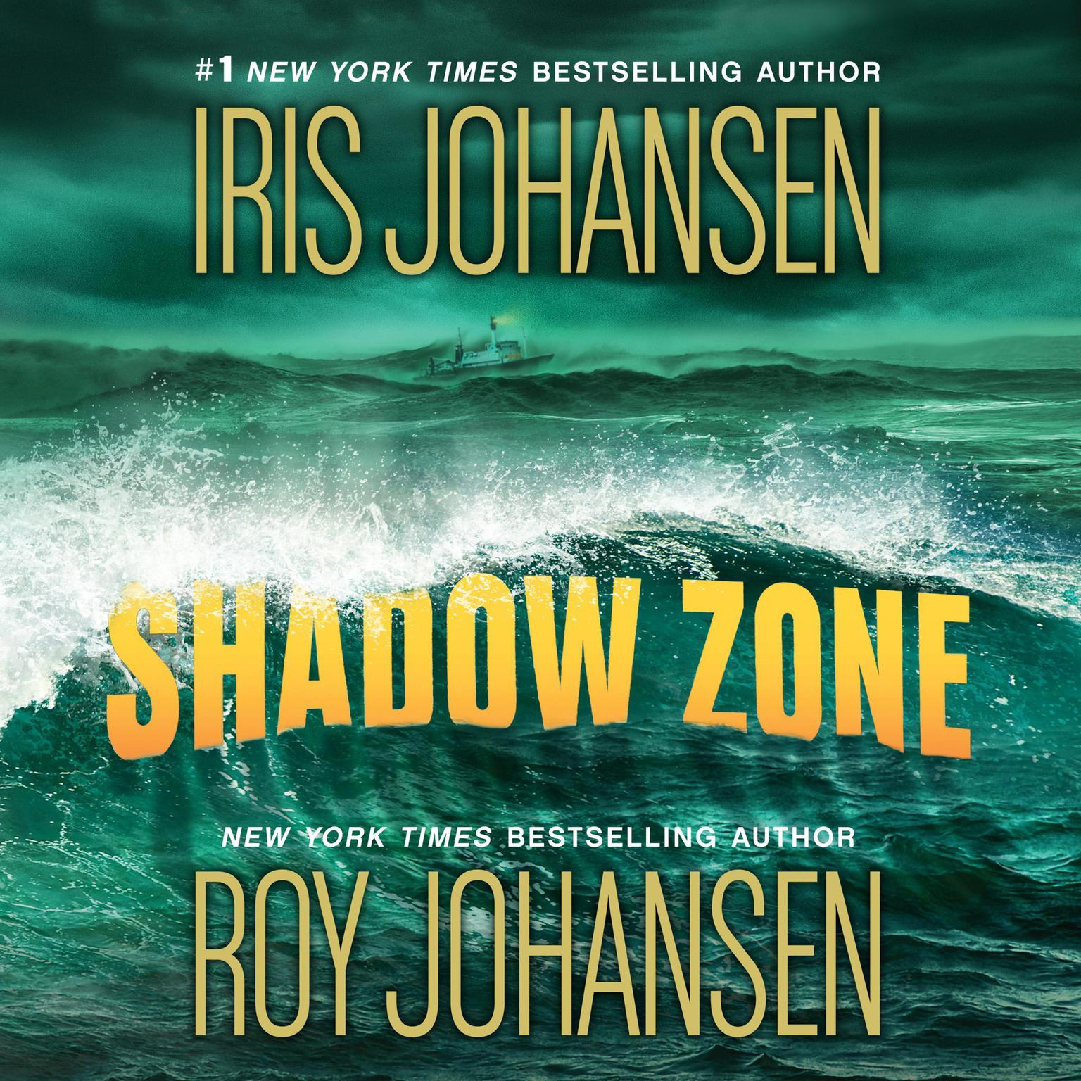 Printable Shadow Zone Audiobook Cover Art