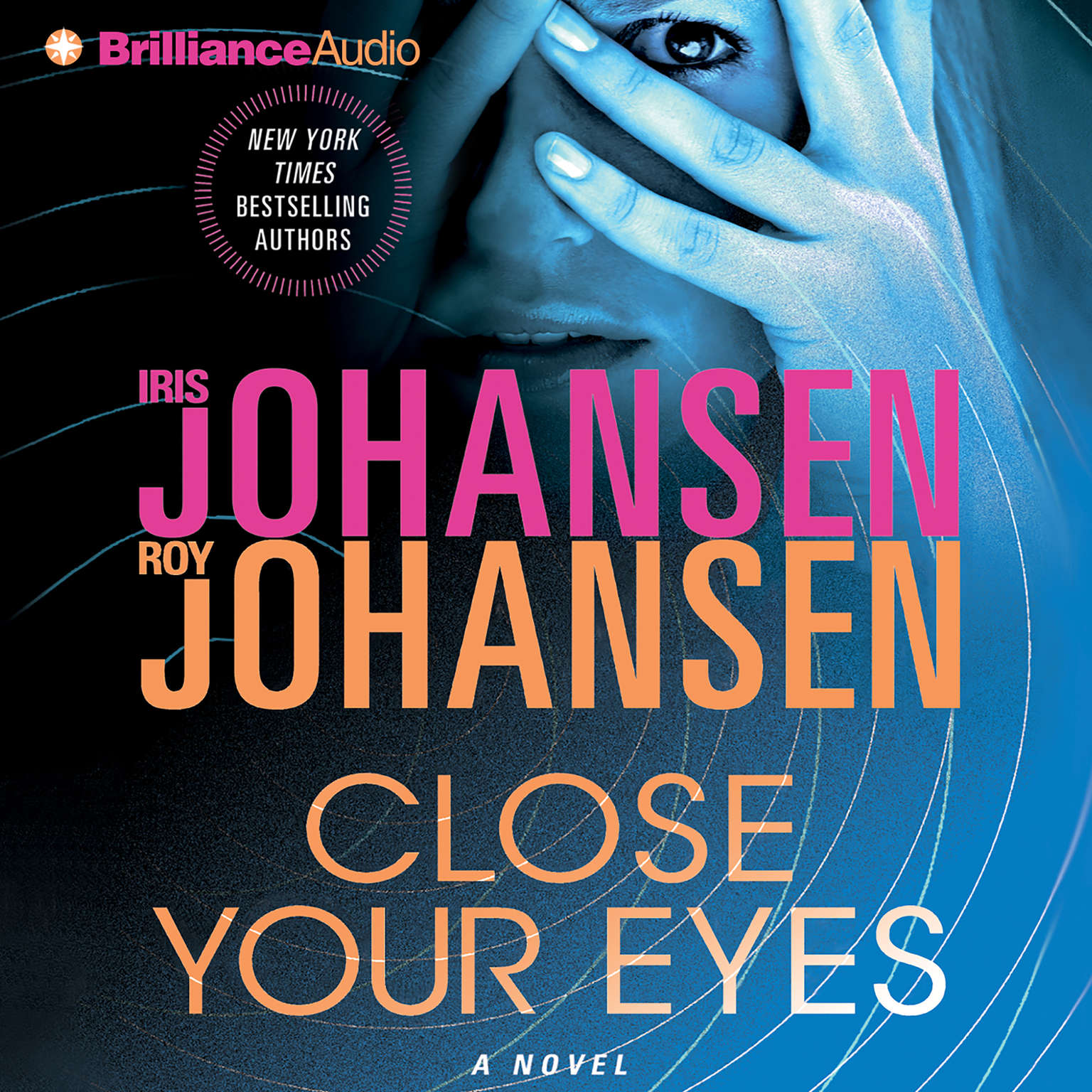 Printable Close Your Eyes Audiobook Cover Art