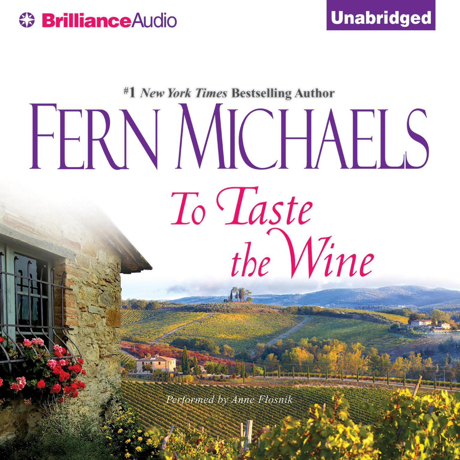 Printable To Taste the Wine Audiobook Cover Art