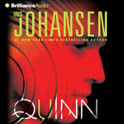 Quinn Audiobook, by Iris Johansen