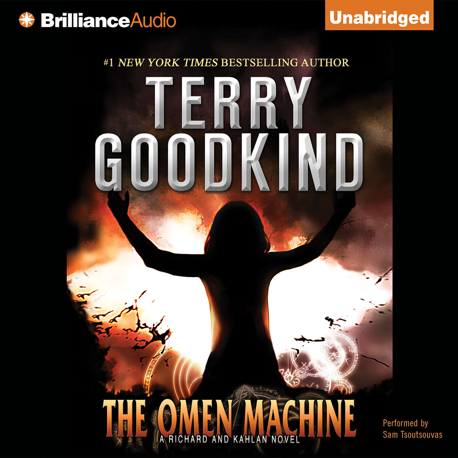 Printable The Omen Machine Audiobook Cover Art