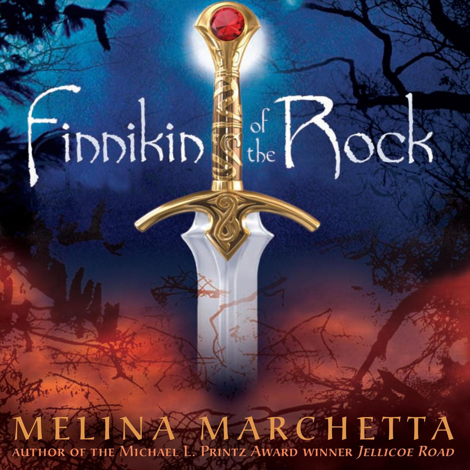 Printable Finnikin of the Rock Audiobook Cover Art