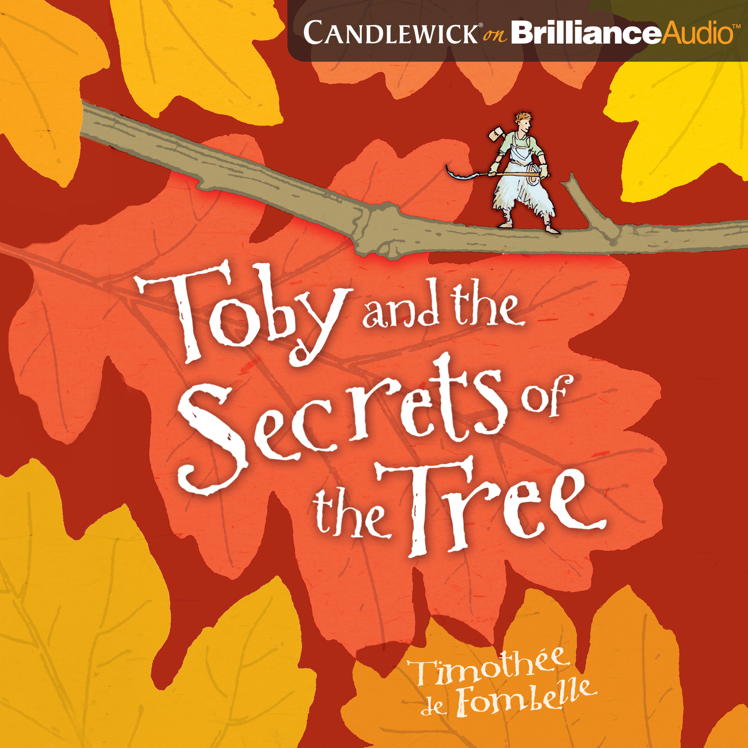 Printable Toby and the Secrets of the Tree Audiobook Cover Art
