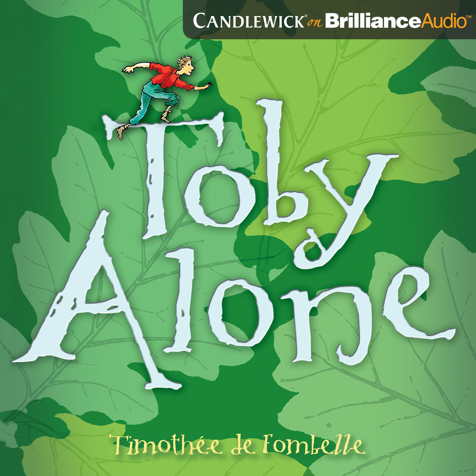 Printable Toby Alone Audiobook Cover Art