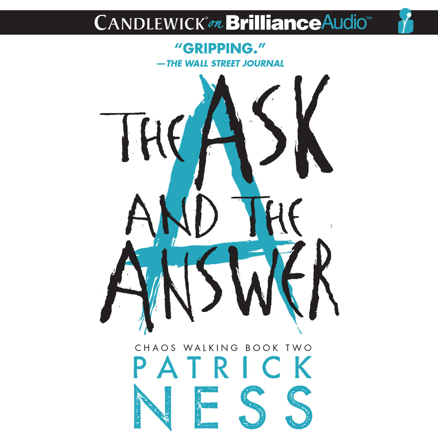 Printable The Ask and the Answer Audiobook Cover Art