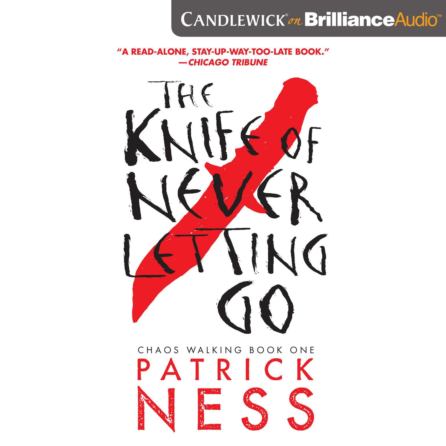 Printable The Knife of Never Letting Go Audiobook Cover Art